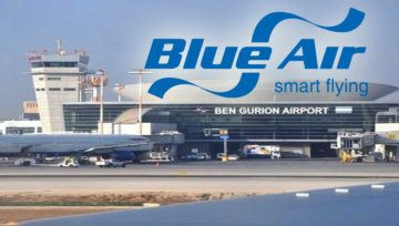 Tel Aviv is open for Blue Air flights