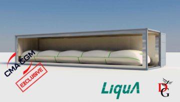 REEFLEX - cel mai nou flexitank produs de Liquatrans pentru containere frigorifice de 40ft
