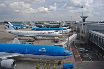 Air freight via Amsterdam